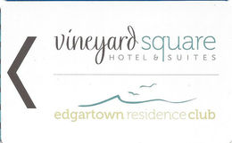 Vineyard Square Hotel & Suites - Hotel Room Key Card - Hotel Keycards