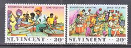 ST. VINCENT  602-3   **  CARNIVAL - Carnival