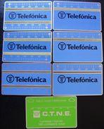 LOTE 7 TARJETAS OLOGRAFICAS - SERIE BASICA - B003; B005; B006; B009; B010; B011; B012; NUEVAS - A001 - España