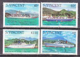 "ST. VINCENT  662-5    **   "" SPECIMEN""   CRUISE  SHIPS - St.Vincent (...-1979)"
