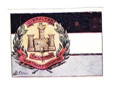 Vignette Militaire Delandre - Grande Bretagne - Gibraltar - Northamptonshire - Erinnofilia