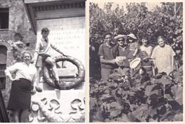 PALESTRINA - ROMA - LOTTO DI 2 FOTO DEL 1964  CON DICASCALIA - Lieux