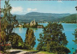 Maria Worth Worthersee Karawanken Karinthie Karnten Österreich Austria Oostenrijk Grote Kaart Grand Format - Maria Wörth