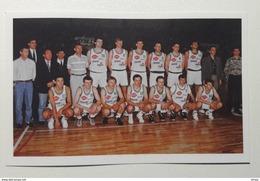 Slovenia Basketball Cards  Stickers Nr. 72 Slovenia National Team First Match - Stickers