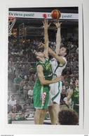 Slovenia Basketball Cards Stickers Nr.190 Mirza Begic  Slovenia : Lithuania - Stickers