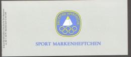 1982 Sport Markenheftchen  Dauerlauf  MiNr 1127  X6  ¨Postfrisch - BRD