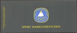 1985 Sport Markenheftchen  Kegeln MiNr 1238 X6 Postfrisch - Markenheftchen