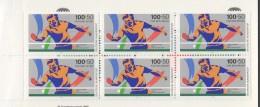 1989  Sport Markenheftchen  Tischtennis  MiNr 1408 X6 Postfrisch - Markenheftchen
