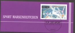 1990  Sport Markenheftchen  Hallenhandball  MiNr 1449 X6 Postfrisch - Markenheftchen