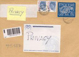 Italia -  2004 -  Francobollo Stoffa - - 6. 1946-.. Repubblica