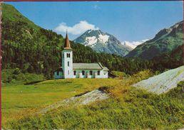 Maloja Kirche 1969 Graubünden Grisons Zwitserland Suisse Switzerland Helvetia - GR Grisons
