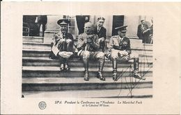 81848 FRANCE SPA MILITARY DURING THE CONFERENCE IN NEUBOIS MARECHAL FOCH POSTAL POSTCARD - France