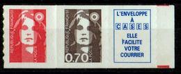 FRANCE 1994 N° 2874c NEUFS AVEC VIGNETTE ENVELOPPE A CASE - Nuevos