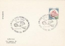 1986  ITALY World  BADMINTON The MEDITERRANEAN  PRIZE EVENT COVER Santa Marinella,  Card Sport Stamps - Badminton