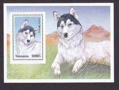 Tanzania, Scott #1439, Mint Never Hinged, Dog, Issued 1996 - Tanzania (1964-...)