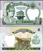Nepal 2 Rupee 1981 UNC - Népal