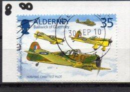 ALDERNEY 1995 Tommy Rose 35p Used Miles Master - Alderney