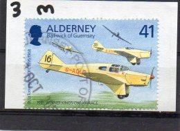 ALDERNEY 1995 Tommy Rose 41p Used Miles Falcon - Alderney