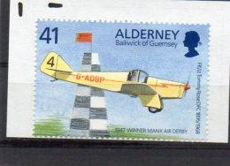 ALDERNEY 1995 Tommy Rose 41p Used Miles Hawk - Alderney