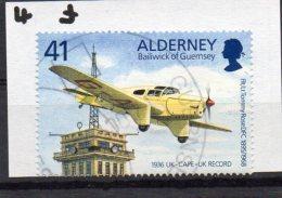 ALDERNEY 1995 Tommy Rose 41p Used Miles Falcon Six - Alderney