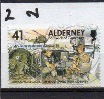 ALDERNEY 1996 Signal Regiment 41p Used - Alderney