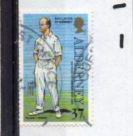 ALDERNEY 1997 Cricket 37p Used - Alderney
