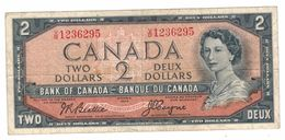 Canada,  2 Dollars , 1954, USED, See Scan. - Canada
