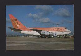 POSTCARD AIRPLANE  BOEING 747 ALLIANCE SOUTH AFRICA AIRPLANES AIRCRAFTS AVIONS - Flugwesen