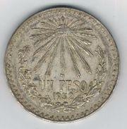 Mexico 1 Peso  1932 , XF, Silver Coin - Mexico