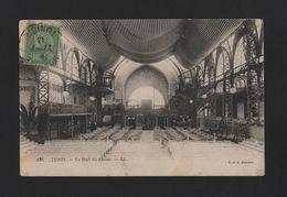 POSTCARD 1913 STAMP TCV TUNIS LE HALL DU CASINO TUNISIA Casinos AFRICA - Postcards
