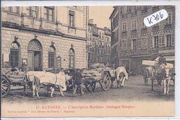 BAYONNE- ATTELAGES BASQUES DEVANT L INSCRIPTION MARITIME - Bayonne