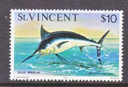 ST. VINCENT  425    **     OCEAN  FISHES   BLUE  MARLIN - St.Vincent (...-1979)