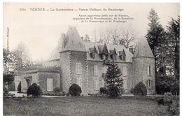 Vendée - LA GAUBRETIERE - Vieux Château De Ramberge - Dos Simple - Ed. Librairie Poupin, Mortagne - Autres Communes