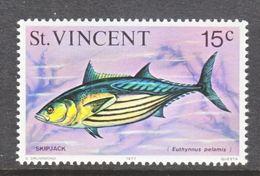 ST. VINCENT  472     **  VARIETY  1977    OCEAN  FISH - St.Vincent (...-1979)