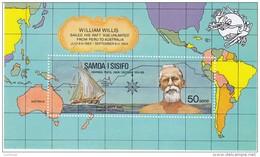 SAMOA, 1974 UPU MINISHEET MNH - Samoa