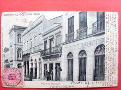 Brésil ,pelotas ,rua 15 De Novembro  En 1904......timbres Et Cachets - Brésil