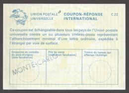 1980  Coupon Réponse  C22 - Entiers Postaux