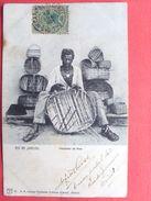 Brésil ,rio De Janeiro ,vendedor Da Rua En 1904......timbres Et Cachets - Rio De Janeiro