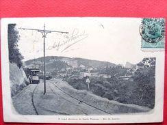 Brésil ,rio De Janeiro ,o Bond Electrico De Santa Theresa  En 1904......timbres Et Cachets - Rio De Janeiro