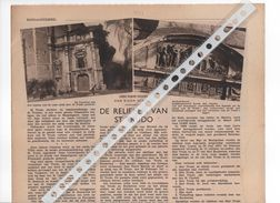 SINT- TRUIDEN...1937 ... DE RELIEKEN VAN ST. TRUDO. - Old Paper
