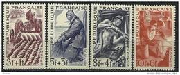 """FR YT 823 à 826 """" Série Des Métiers """" 1949 Neuf** - France"""