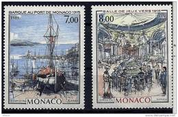 "Monaco YT 1696 & 1697 "" A La Belle époque "" 1989 Neuf** - Monaco"