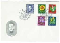 Suisse // Schweiz // Switzerland //  Pro-Juventute  // 1961 Série Complète Sur Lettre 1er Jour - Lettres & Documents