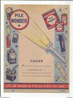 PROTEGE CAHIER PILE WONDER - Protège-cahiers