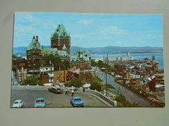 CANADA QUEBEC  SUR LE PROMONTOIRE DU CAP DIAMANT MOUS CONTEMPLONS L'UN DES PLUS BEAUX PANORAMAS DU MONDE - Québec - La Citadelle