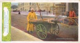 EGYPTE  LE CAIRE  MARCHAND DE CANNE A SUCRE PUBLICITE CHOCOLAT DELESPAUL - HAVEZ - Kairo