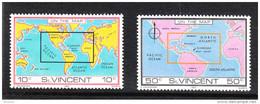 St. Vincent   -   1980. Carte Geografiche America E Africa. America And Africa Maps. MNH - Geografía
