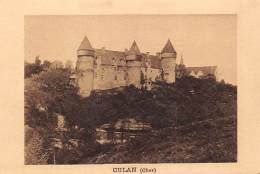 """BON POINT  """"LABORATOIRE DU TOPIQUE BERTRAND"""" OULLINS   CHER  CULAN  CHATEAU - Vieux Papiers"""