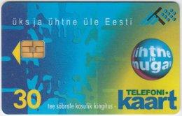 ESTONIA A-012 Chip Eesti Telefon - Used - Estonia