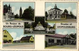 BELGIQUE - LIMBOURG - LEOPOLDSBURG - BOURG-LEOPOLD - Groeten Uit ... - Un Bonjour De .... - Leopoldsburg